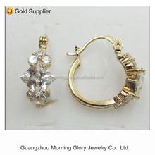 accessory crossing jewelry men cross earring