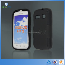 Silicone + PC Combo Hard Case Cover For Alcatel One Touch Pop C3 4033 DL700
