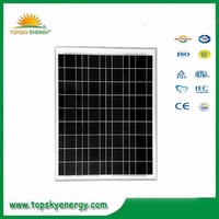 50w 17.5V 2.86A OEM/ODM poly grade A wholesale prices of solar panel made in China