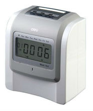Deli 3953 attendance machine records machine punch card attendance machine