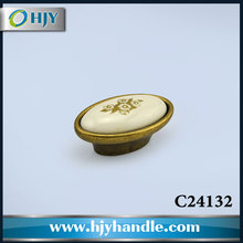 China furniture accessories fancy classical porcelain cabinet knobs