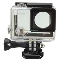 Top Quality Brand New Side Open Skeleton Housing Protective Case Cover Mount For GoPro Hero 4 Camera