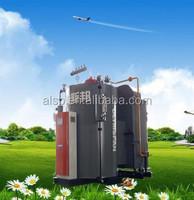 Energy saving 10% thermal efficiency 98%-100% Vertical Condensing Steam Boiler