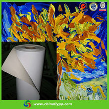 hot sale digital printing canvas oil painting, canvas for printer