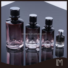 Different capacity perfume bottle with coating
