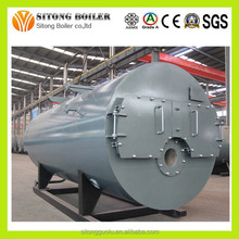 WNS Series 3-Pass Industrial Fire Tube Steam Boiler for Sale, Heavy Oil Boiler
