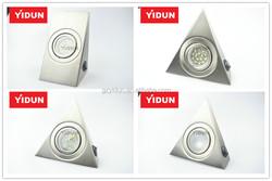 20W durable steel nickel interior led halogen cabinet lighting kits
