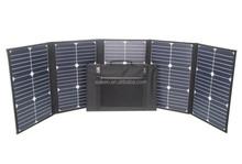 High efficiency 20% 100 Watts folding solar panel with light weight sunpower solar cell