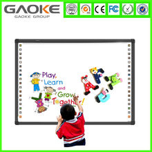 New 2 or 4 touch model 82inch used in smart classroom cheap interactive portable whiteboard prices supply ODM OEM