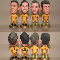 Soccer football player action figure;Mini soccer player;Custom football player mini figure