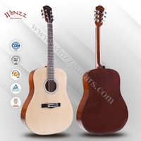"[Winzz] 41"" Maple Finerboard Spruce Plywood Linden Back Wholesale Acoustic Guitar (AF29H)"