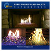 Fire glass pebbles