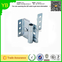 Custom Garage Door Hardware Adjustable Top Roller Bracket, Made of Steel