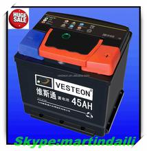 High capacity car battery/12v36ah high performance car battery/mf DIN car bttery