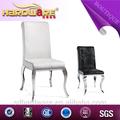 confortável sala de jantar cadeiras da cozinha do aço inoxidável com as pernas da cadeira