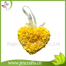 New design wedding decorative heart shape rose flower with high quality