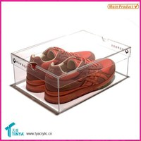New Products Hot Selling Import China Goods Acrylic Wholesale Display Rack For Nike Shoes