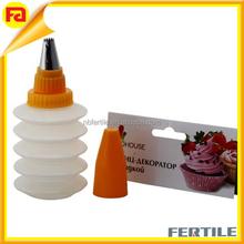 Suministros de decoración de pasteles guinda del pastel de la pluma pasteles que adorna profesional en herramientas de decoración de pasteles