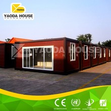 Low cost prefab self contained container house