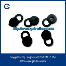Custom silicone rubber earphone suction cup