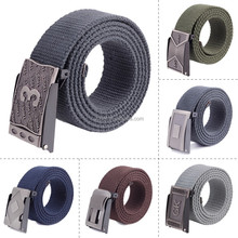 Outdoor sports boys canvas belts wholesale