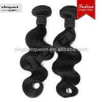 5A wholesale virgin Indian hair puff 100% virgin human hair body wave