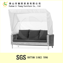 Patio Outdoor All Weather Rattan/Wicker Sofa ,Lounge Rattan Furniture