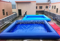 Certificated durable kids & adults inflatable swimming pool,large above ground inflatable pool,inflatable bath pool F9034(1)