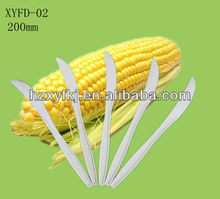 Biodegradable disposable cornstarch plastic eco-friendly knife 7inch