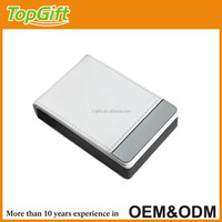 Leather gift card case for business men