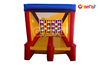 2016 New Red and Yellow Inflatable Toss Game Inflatable Sports Game for Adult