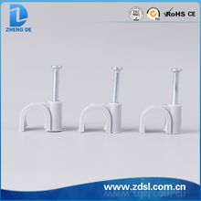 Shock Resisting Round Cable Clip