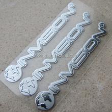3M self adhesive metal logos