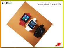 Rotatable Design And Color Display U8 Smart Watch U8 Bluetooth Smart Watch U8 Pro For Samsung Htc Lg Huawei Xiaomi Android Phone