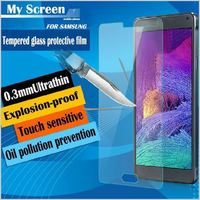 Wholesale Premium Tempered Glass Screen Protector For Samsung Galaxy S3 S4 S5