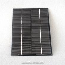Monocrystalline 145*110mm 18V 2W Epoxy resin solar panel