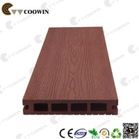 Outdoor wood plastic timber plank