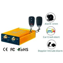 Advanced GSM GPRS Vehicle GPS Alarm Tracking Kit with Hazard/siren,Speed Buzzer, Door Lock/Unlock, Doppler sensor