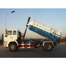 12 metros cúbicos vácuo de sucção de esgoto tanker truck para congo