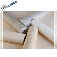 China Supplier Howoo Natural Design PVC Light Color Blue Wallpaper