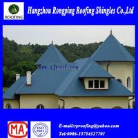 Round fiberglass bitumen roofing shingle made in china