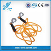 towing strap with eye hook, 3000 kg towing rope, steel auto tow rope