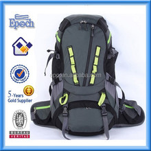 Waterproof durablehiking backpack bag with rain cover