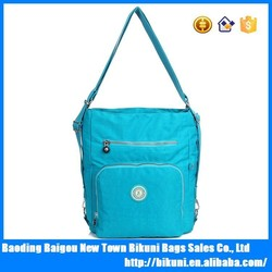 New fashion casual male school backpack nylon sports messenger bags for women 2015