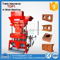 kenya interlock block press machine Eco master 7000 interlocking clay block machine mechanical block machine