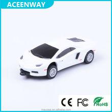 decorated white complex plastic low price usb flash drive