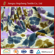 2015 hot sale good hand feeling burnout flannel fleece fabric/coral fleece/pv fleece