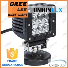 24w off road off road led work light lamp 10-30v square led work light 4wd truck atv suv UX-WL4CR-FL24W/A