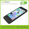 2015 New Arrival Battery Case Charger for iPhone 6 Case Power Pack
