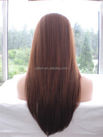Fashion Highlight Straight Synthetic Hair Lace Front Wigs